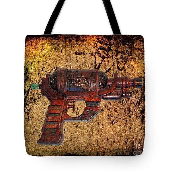 Steampunk - Gun - Ray Gun Tote Bag by Paul Ward