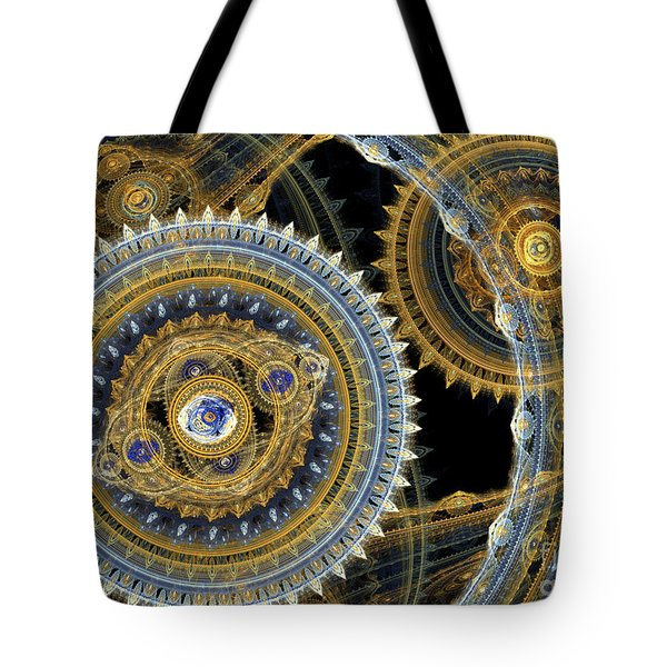 Steampunk machine Tote Bag by Martin Capek