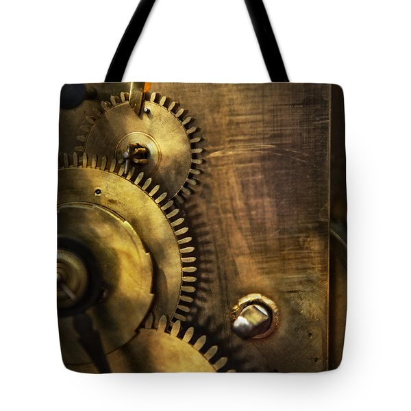 Steampunk - Toothy  Tote Bag by Mike Savad