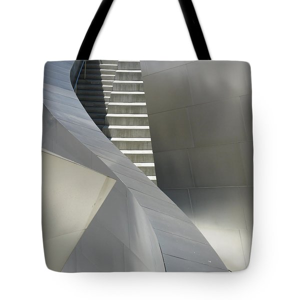 Steel And Concrete Tote Bag by Ausra Paulauskaite