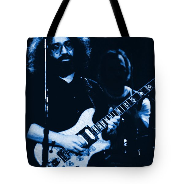 Stella Blue At Winterland 3 Tote Bag by Ben Upham