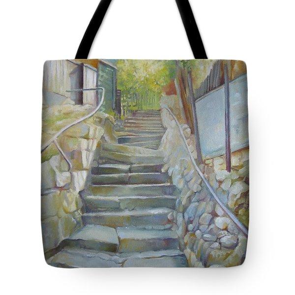 Step By Step Tote Bag by Elena Oleniuc