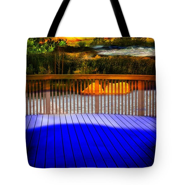 Step Out Tote Bag by Gunter Nezhoda