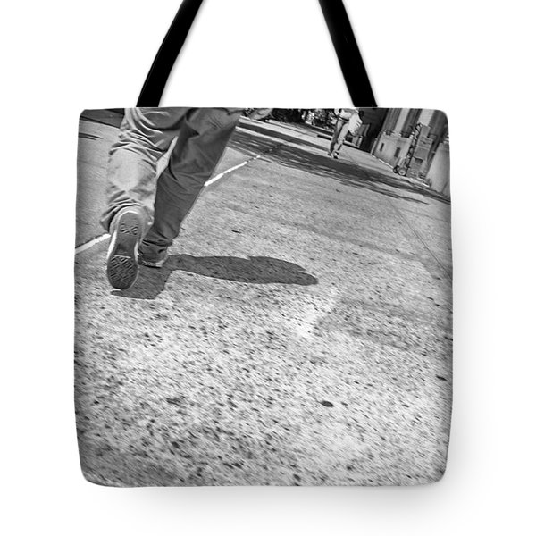 Stepping Out In The City Tote Bag by Karol  Livote