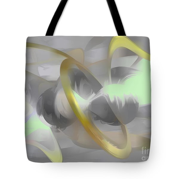 Sterling Desire Abstract Tote Bag by Alexander Butler