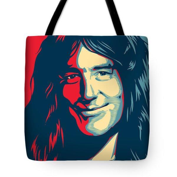 Steve Harris Tote Bag by Caio Caldas