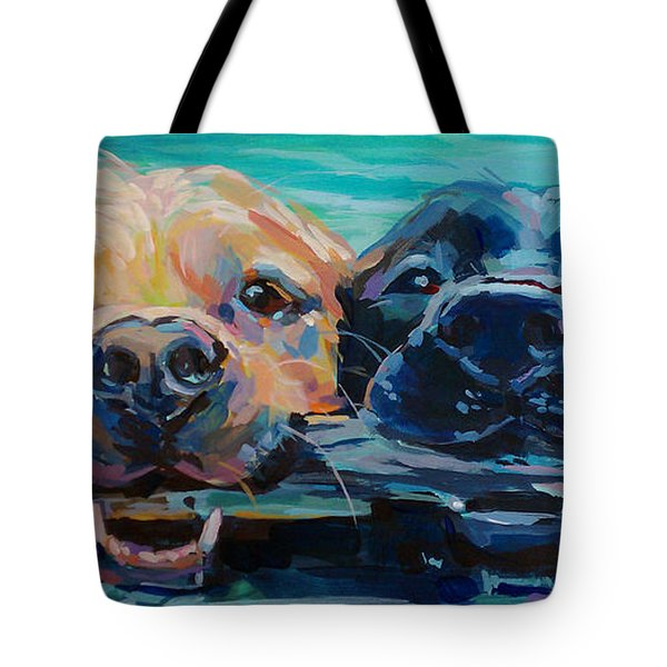 Stick It Tote Bag by Kimberly Santini