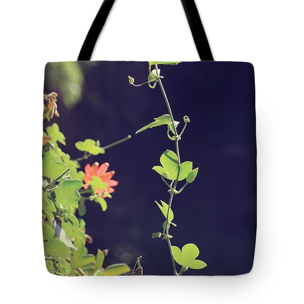 Still Holding On Tote Bag by Laurie Search
