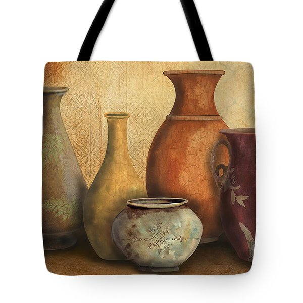 Still Life-C Tote Bag by Jean Plout