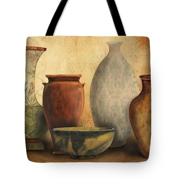 Still Life-d Tote Bag by Jean Plout