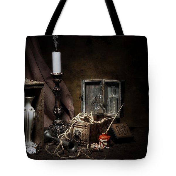 Still Life - General Vintage Items Tote Bag by Tom Mc Nemar