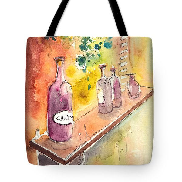 Still Life In Chianti In Italy Tote Bag by Miki De Goodaboom