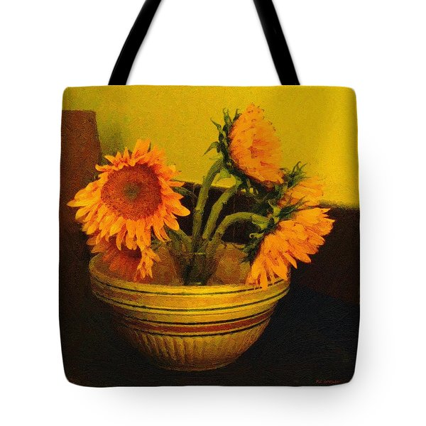 Still Life September Tote Bag by RC deWinter