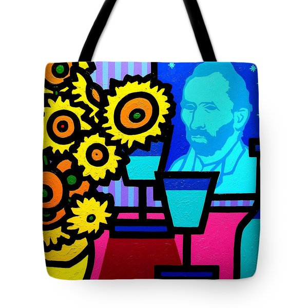 Still Life With Vincent Tote Bag by John  Nolan