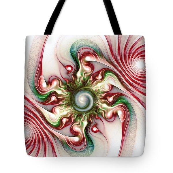 Stimulation Tote Bag by Anastasiya Malakhova