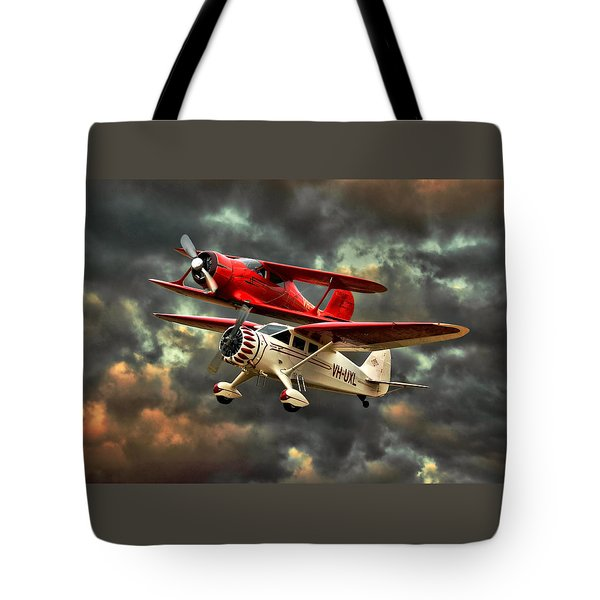 Stinson And Beech Tote Bag by Steven Agius