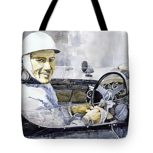 Stirling Moss Tote Bag by Yuriy  Shevchuk