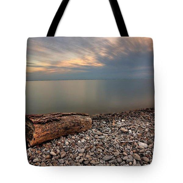 Stone Beach Tote Bag by James Dean
