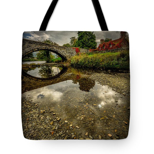 Stone Bridge Tote Bag by Adrian Evans
