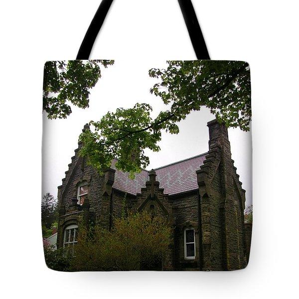 Stone Home  Tote Bag by John Malone