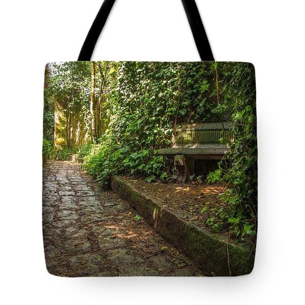 Stone Path Tote Bag by Jess Kraft