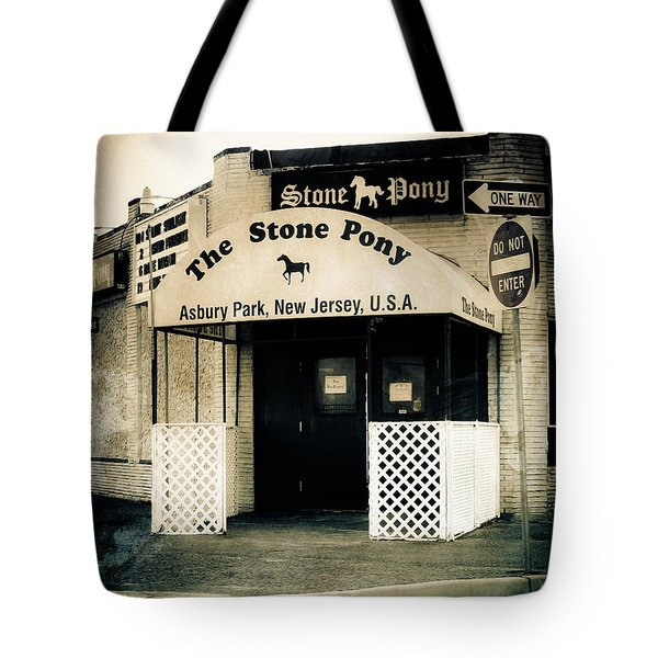Stone Pony Tote Bag by Colleen Kammerer