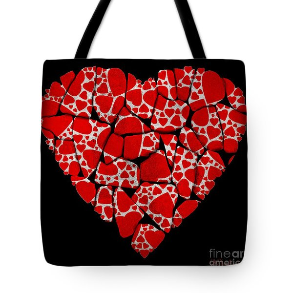 Stoned In Love Tote Bag by Barbara Chichester