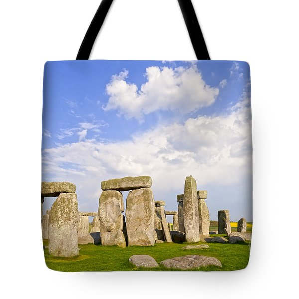 Stonehenge Stone Circle Wiltshire England Tote Bag by Colin and Linda McKie