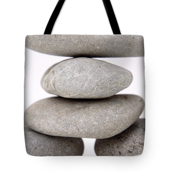 Stones Tote Bag by Les Cunliffe