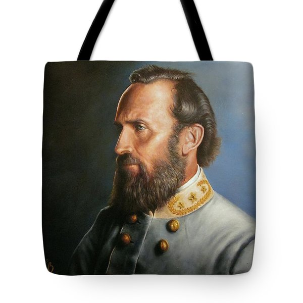 Stonewall Jackson Tote Bag by Glenn Beasley