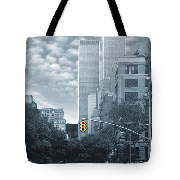 Stop Tote Bag by Mike McGlothlen