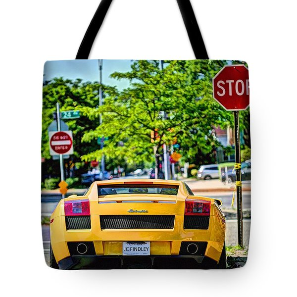 Stop Signs are Wrong Tote Bag by JC Findley