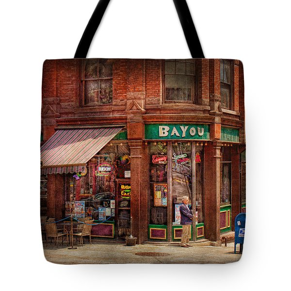 Store - Albany Ny -  The Bayou Tote Bag by Mike Savad