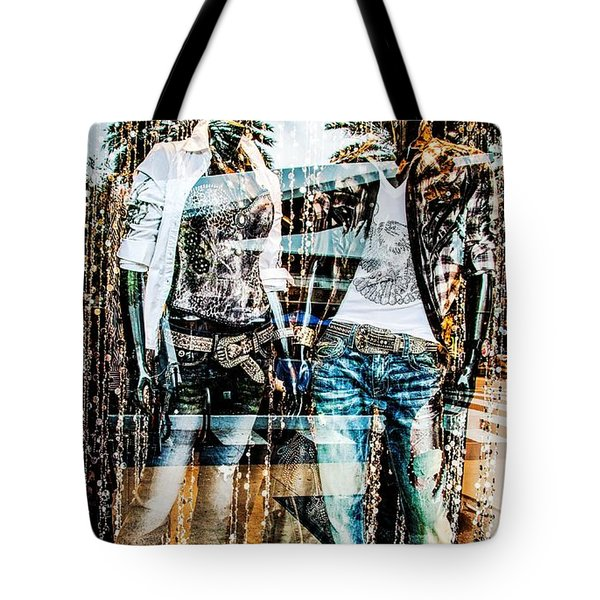 Store Window Display Tote Bag by Rudy Umans
