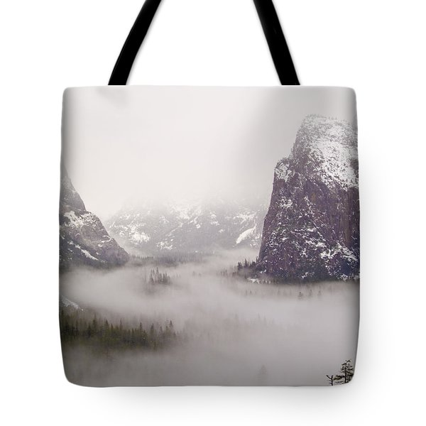 Storm Brewing Tote Bag by Bill Gallagher