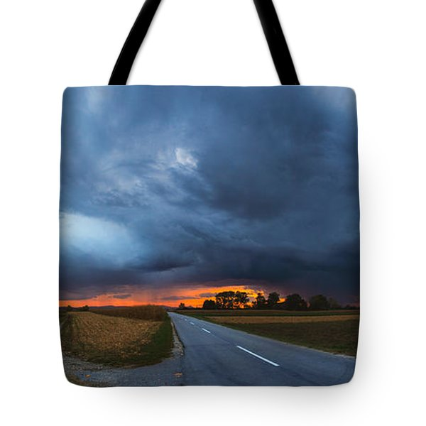 Storm is coming Tote Bag by Davorin Mance