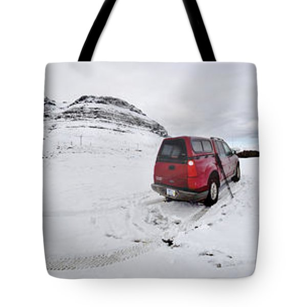 Storm Rider Tote Bag by Evelina Kremsdorf
