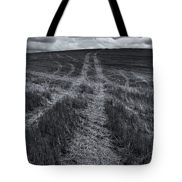 Storm Tracks Tote Bag by Mike  Dawson