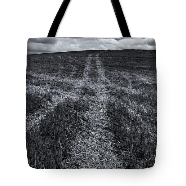 Storm Tracks Tote Bag by Mike  Dawson