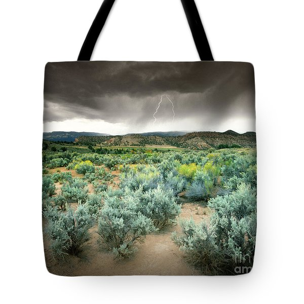 Storms Never Last Tote Bag by Edmund Nagele