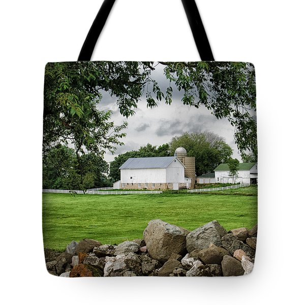 Storms On The Way Tote Bag by Christi Kraft