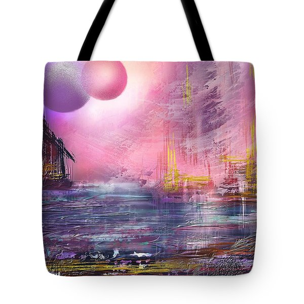 Stormway Tote Bag by Francoise Dugourd-Caput