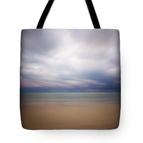 Stormy Calm Tote Bag by Adam Romanowicz