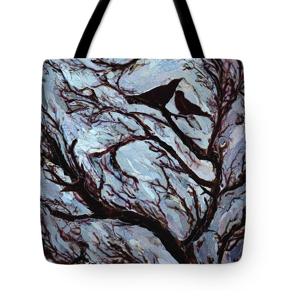 Stormy Day Greenwich Park Tote Bag by Ellen Golla
