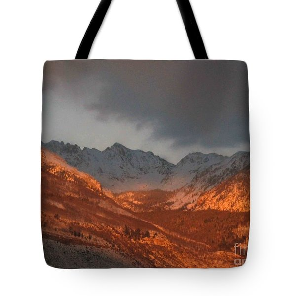 Stormy Monday Tote Bag by Fiona Kennard