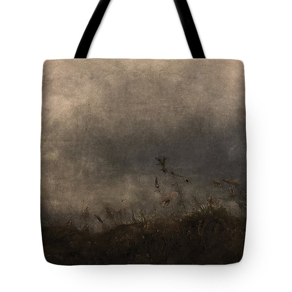 Stormy Mondays Tote Bag by Ron Jones