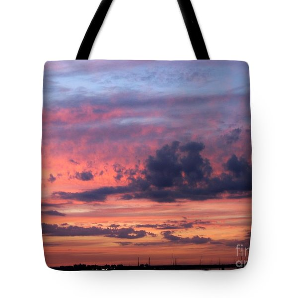 Stormy Skies Tote Bag by Dora Sofia Caputo Photographic Art and Design