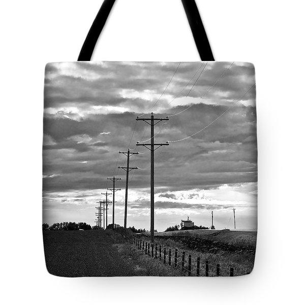 Stormy Skies Tote Bag by Lisa Knechtel