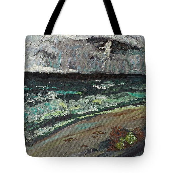 Stormy Weather Tote Bag by Joseph Demaree
