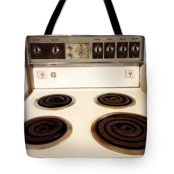 Stove top Tote Bag by Les Cunliffe
